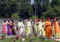 Kumbha Abhishekam of the Hindu Temple of Delaware (2002)