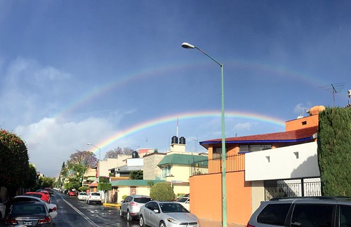 Arcoiris Rainbow on the City