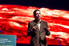 José Francisco Salgado, astrónomo y artista visual puertorriqueño. III Festival de Ciencia de Antofagasta 2016