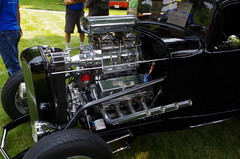 Deuce Sedan (ilgunmkr - Mourning The Loss Of My Wife Of 52 Year) Tags: ford 1932 hotrod deuce carshow streetrod blower 2015 1932ford 385series hennepinillinois 429or460