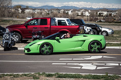 Green (Hunter J. G. Frim Photography) Tags: verde green colorado convertible spyder lamborghini supercar gallardo lamborghinigallardo lamborghinigallardospyder lp5604 lamborghinigallardospyderlp5604