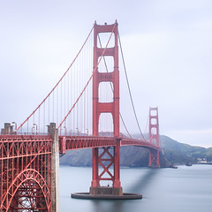 San Francisco... The most overrated city in USA. (Always Shooting) Tags: sanfrancisco california bridge red usa color northerncalifornia fog grey spring day arch time sightseeing gray goldengatebridge goldengate bayarea type sanfran subject siliconvalley activity lanscape