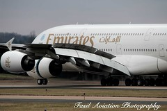 Emirates Airbus A380-861 A6-EOF (MSN007) Tags: airplane airport iad aircraft air jet emirates airbus a380 airways airlines 800 airliner kiad a380861 a6eof