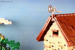 Wind Vane (kosbrick) Tags: lego windvane moc npu paintroller ironbuilder