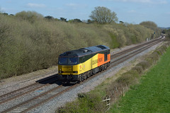 colas rail hired to db cargo 60002 working 1Z99 toton tmd to branston junction passing barrow on trent (I.Wright Photography over 2 million views thanks) Tags: working rail db cargo junction trent passing barrow branston hired tmd colas toton 60002 1z99