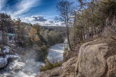 Muskoka Falls, South Muskoka River (Szumski Tomasz) Tags: travel nature water forest river rocks whitewater current bluecamel3d