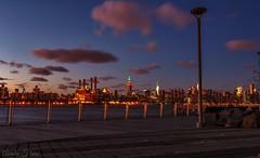 #sunset #Afterglow  #Manhattan #Williamsburg #waterfront  #Brooklyn #NewYork (lelobnu) Tags: sunset newyork brooklyn waterfront manhattan williamsburg afterglow