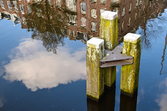 Street view - Amsterdam (Maria Eklind) Tags: street city holland reflection netherlands amsterdam europe streetphoto nl streetview noordholland cityview spegling nederlnderna