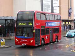 SLN 19824 - LX11BKZ - BEXLEYHEATH - FRI 22ND APR 2016 (Bexleybus) Tags: kent broadway route 400 dennis enviro 96 tfl bexleyheath adl 19824 stagecaoch lx11bkz