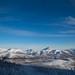 Montanhas próximo a Ust-Nera