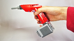 How to Build the Lego Technic Cordless Drill (with Power Functions motor) (hajdekr) Tags: way toy engine equipment help tip howto tips motor guide manual cordless tool function improvement tutorial homeimprovement drill assembly tuto xlarge forkids cordlessdrill legotechnic instrucions powerfunctions buildingguide materry