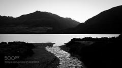 Molten Creek (southjerseseyhvac) Tags: new mountain lake portugal water creek river dawn dusk hills zealand fujifilm rafael wanaka molten rijo x100s