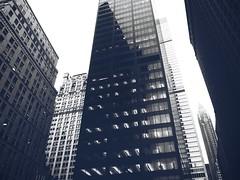NYC (patoche 38) Tags: nyc windows blackandwhite newyork building blancoynegro architecture skyscraper ventana town tour noiretblanc ciudad fentre ville immeuble nuevayork