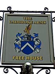 Ladbroke Arms (Draopsnai) Tags: pub coatofarms nottinghill pubsign kensingtonandchelsea ladbrokearms ladbrokeroad