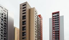Studentenwohnheim Wundtstrae #1 (Marcus Pink) Tags: architecture modern de deutschland dresden plattenbau sachsen architektur tudresden