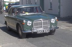 1962 Rover 3 Litre (occama) Tags: old uk 3 green car cornwall rover british saloon 1962 aunty litre p5 skr882