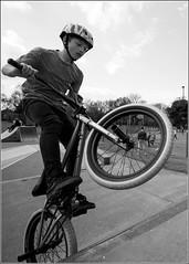 Ben---BMX (Maw*Maw) Tags: park photoshop canon eos mono bmx ramp angle ben box pipe wide adobe 7d eaton cs trick 1022mm stunt