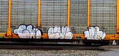 chub - este - jase (timetomakethepasta) Tags: train graffiti chub ba este freight jase tdk dtt autorack