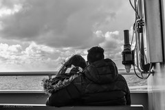 looking for new horizons (Explored) (is.hollmann) Tags: sea island blackwhite couple meer paar norderney insel northsea sw nordsee