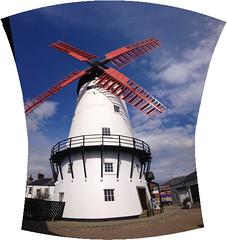 Marsh Mill (GadgetHead) Tags: old windmill photoshop lancashire photomerge thornton iphone photoshopelements lancs 1794 marshmill thorntoncleveleys iphone4s photoshopelements12