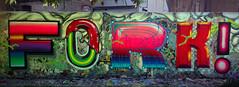 """Vectorism"" (FORK4 / AFX / SW307 / UBS) Tags: digital graffiti rainbow budapest style fork rgb glitch vector molotow fork4"