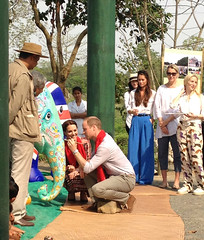 The Duke & Duchess in Assam
