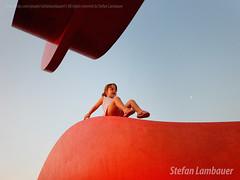Catharina (Stefan Lambauer) Tags: red brazil baby brasil kid infant br sopaulo santos criana menina catharina 2016 tomieohtake emissriosubmarino stefanlambauer