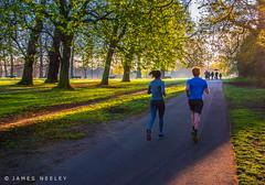 Sun Run (James Neeley) Tags: london hydepark jamesneeley