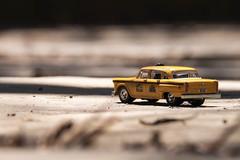 Taxi Cab  8/52 (Heidi(:)) Tags: car miniature fuji taxi small 55200mm xt1