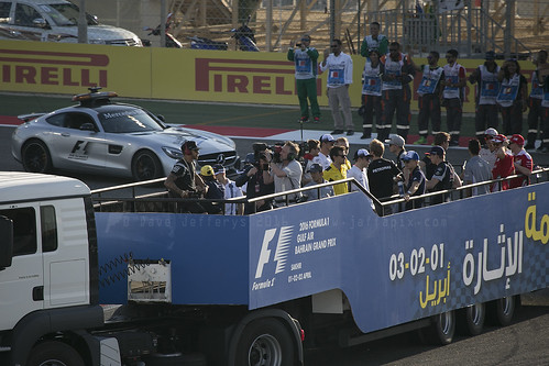F1 Drivers Parade
