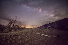 The Coming Light (KrissyM_77) Tags: deathvalley nationalpark california desert sunrise star stars milkyway longexposure night astrophotography sand dunes panamintsprings rokinon