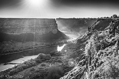 Snake River, Twin Falls (DonMiller_ToGo) Tags: bw sunshine landscape outdoors canyon idaho snakeriver hdr 3xp hdrphotography d5500