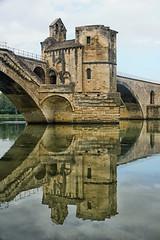FRANA - Avignon - Pont Saint-Bnzet (Infinita Highway!) Tags: trip travel bridge france europa europe ponte pont provence avignon saintbnzet infinitahighway