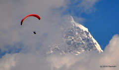 DSC_0451 (rachidH) Tags: nepal sky mountain snow nature clouds peak paragliding everest pokhara annapurna himalayas himal machapuchare rachidh