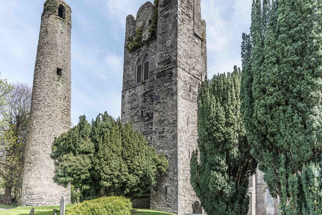 St. Columba's Church And Grounds In Swords County Dublin [Church Road]-115239