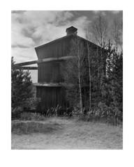 Sawmill (Theolde) Tags: film kodak 4x5 lf tmax100