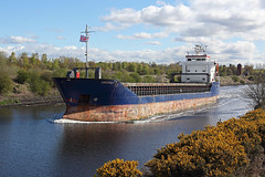 'Arkonia' Moore 26th April 2016 (John Eyres) Tags: warrington cement moore wharf after passing heading salford outward unloading manchestershipcanal weaste arkonia 260416