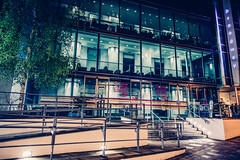 Movie Magic (darren.cowley (off and on until June)) Tags: nottingham cinema architecture night movie lights neon theatre magic illuminated broadwaycinema darrencowley