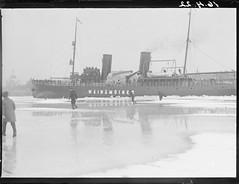 Etelsatama, Winminen; jnmurtaja Etelsatamassa 16.4.1922 (KansallisarkistoKA) Tags: helsinki 1922 icebreaker jnmurtaja etelsatama winminen