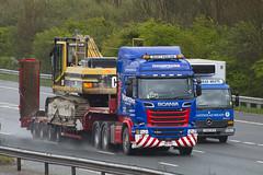 V8TPH Scania R580 (Vodka Burner) Tags: heavyhaulage scaniatruck stgocat2 scaniar580 v8tph scanair580v8 thompsonsplanthire
