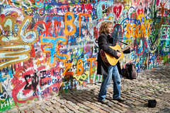 You may say I'm a dreamer... (McQuaide Photography) Tags: street city travel light colour tourism wall zeiss graffiti europe czech prague guitar outdoor candid painted sony sunny praha landmark cobblestone handheld imagine czechrepublic daytime colourful busker fullframe alpha johnlennon oldstreet touristattraction praag multicolour c1 lennonwall acousticguitar czechia centraleurope johnlennonwall malstrana capitalcity 1635mm cobbledstreet famousplace eskrepublika variotessar captureone mirrorless sonyzeiss mcquaidephotography a7rii ilce7rm2 captureonepro9