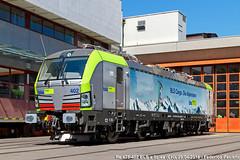 Il nuovo che avanza (Elmeon) Tags: train switzerland swiss siemens railway zug bern svizzera bls bahn 401 officina berna spiez oberland deposito elettrica locomotiva vectron re475