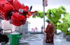 bvp04 (chubbybots) Tags: lego diorama mech moc angrybirds