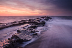 Happy Christmas! (Stu Meech) Tags: christchurch sunrise landscape dawn nikon long head hard lee dorset d750 filters polarizer grad groyne bournemouth hengistbury southbourne 1635 polariser 06nd