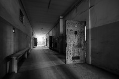 Carcere (RG82pictures) Tags: door old white black decay prison jail rg urbex carcere gevangenis