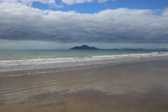 Mission Beach (132) Clouds Dunk Island (sixdos) Tags: sea sky beach clouds sunrise canon reflections australia queensland missionbeach tropicalnorthqueensland farnorthqueensland dunkisland canoneos7dmarkii missionbreaze