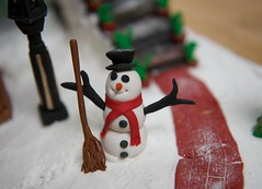 Let it snow! Let it snow! Let it snow! (ineedathis, the older I get, the more fun I have!) Tags: snow stairs scarf miniatures baking snowman modeling path buttons bricks lamppost tophat carrot icing gingerbreadhouse edible broom flowerpots gumpaste sugarwork christmas2015 nikond750 theoldebarrelshop