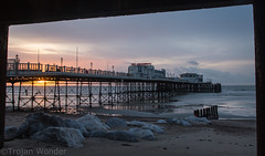 New years Day sunrise (10) (Trojan Wonder) Tags: sea beach water clouds sunrise pier worthing shingle newyear structure groyne 2016 robcarter