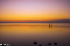 the Surface (Art Fiveone) Tags: red wallpaper lake reflection water japan 35mm landscape horizon       orage kasumigaura ibaraki  carlzeiss       namekata   namegata dsitagon distagon3514zm