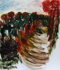 "Holle weg in Daniken, acryl op doek, 110 x 130 • <a style=""font-size:0.8em;"" href=""http://www.flickr.com/photos/42196492@N03/23852979563/"" target=""_blank"">View on Flickr</a>"